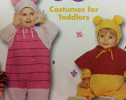 Winnie Pooh Halloween Costumes Babies Winnie Pooh Costume Etsy