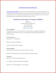 Sample Resume For Ojt Architecture by Architecture Student Resumes Templates Memberpro Co