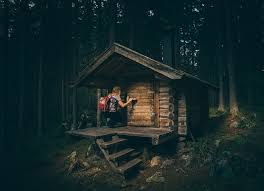 free photo bungalow cabin forest house hut free image on