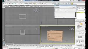 how to make a bookshelf in 3ds max 2014 tutorial for beginners