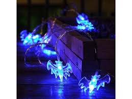holiday decoration led starry string lights with flat pumpkins