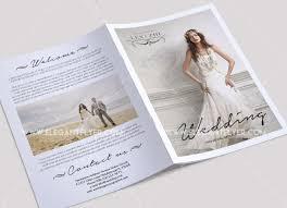 Bi Fold Wedding Program 40 Free Must Have Wedding Templates For Designers Free Psd