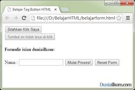 membuat form input menggunakan html tutorial form html fungsi dan cara penggunaan tag button html