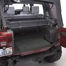 4 Door Jeep Interior 2007 2010 Jeep Wrangler 4 Door Mountaineer Rack Cargo Racks