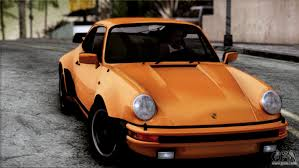orange porsche 911 turbo porsche 911 turbo 2007 for gta san andreas