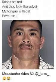 Mustache Ride Meme - 25 best memes about free moustache rides free moustache