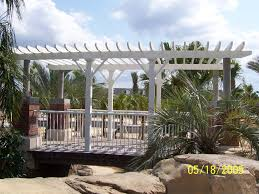 pergola with trellis panels home decorating interior design