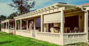 Shades For Patio Covers Aluminum Lattice Covers U0026 Pergolas Phoenix Patio Systems