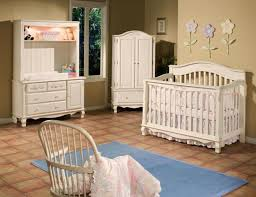Cheap Nursery Furniture Sets Furniture Designer Crib Linens With Flower Wall Ornaments And