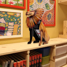 Home Interior Lion Picture Aliexpress Com Buy Tooarts Wine Rack Lion Wine Holder Wine Shelf
