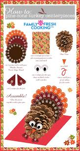 turkey decorations for thanksgiving pine cone turkey centerpieces marla meridith