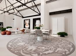 dining room best round rug for dining room artistic color decor