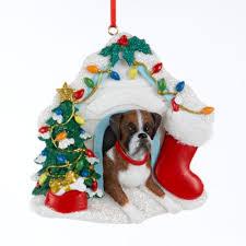boxer house ornament calendars