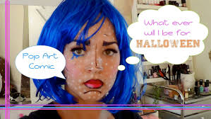 easy halloween pop art comic book character youtube