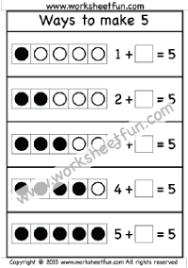 addition u2013 making 5 free printable worksheets u2013 worksheetfun