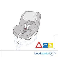 notice siege auto bebe confort mode d emploi bebe confort pearl siège auto bébé en ligne