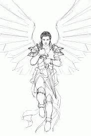 free printable angel coloring pages page image angels