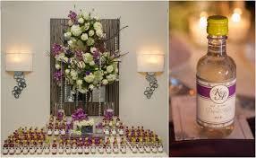 wine bottle wedding favors magical disney wedding mazelmoments
