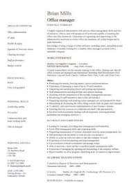 Office Manager Job Description Resume by Resume For Office Manager Commercetools Us