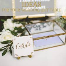 wedding gift table ideas wedding reception gift table ideas lading for
