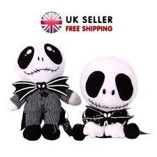 nightmare before skellington plush soft doll
