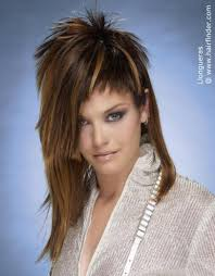 Haircuts For Women Long Hair That Is Spikey On Top | long hair chopped in multiple lengths from spiky short to shoulder long