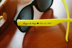 personalized sunglasses wedding favors personalised sunglasses wedding favours louisiana brigade