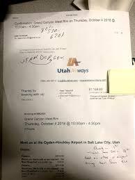 Utah Emergency Travel Document images New zealand couple wants reimbursement for utah airline 39 s no show jpg