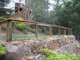 backyard fence ideas backyard fence surrounded by forest