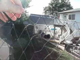 diy lacrosse goal lacrosse backstop construct your own for half the price youtube