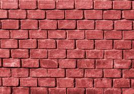 paper backgrounds red rugged brick wall