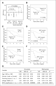 Sample Resume Objectives For Hr Positions by Myc Amplification As A Prognostic Marker Of Early Stage Lung