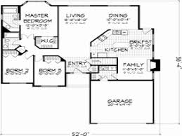 unique small home plans two story house plans without garage unique 3 small house bedroom 3