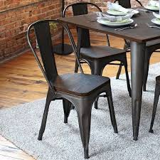 industrial kitchen table furniture best 25 metal dining chairs ideas on white dining