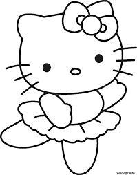 coloriage dessin hello kitty 4 dessin