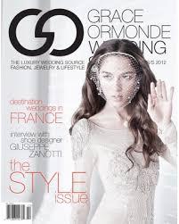 Magazine Wedding Programs Wedding Style Magazine Wedding Programs Meet Grace Ormonde Editor