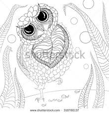 flora coloring pages art color therapy anti stress coloring stock vector 318780137