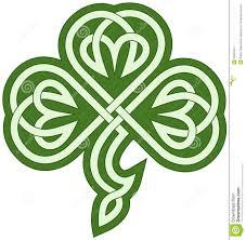 celtic clover stock vector image 39807847