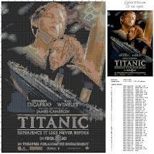 cross stitch pattern design software titanic film poster free cross stitch pattern made with pcstitch