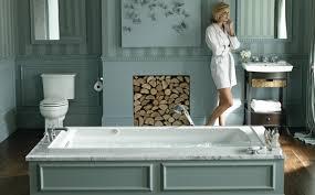 Wonderful Kohler Sinks Plus Modern Faucet Plus Tile Wall For - Kohler bathroom design