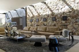 naturstein wohnzimmer attraktive wandgestaltung im wohnzimmer wand in steinoptik verkleiden