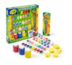 washable paint kit crayola