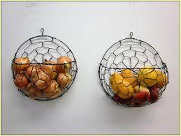 wall fruit basket cool wall mounted fruit basket homesfeed