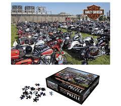 harley davidson bike lot collector u0027s edition puzzle 6033d