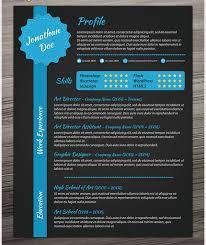 creative resume template u2013 81 free samples examples format