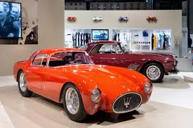 1954 maserati a6gcs maserati featured at 2017 milano autoclassica show