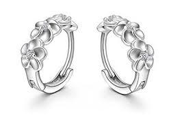 hypoallergenic earrings uk summens hypoallergenic women s clip earrings 925 sterling silver