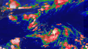 caribbean weather map caribbean map stock footage
