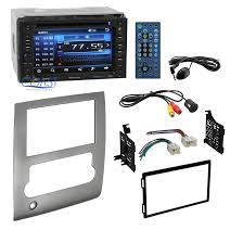 nissan 350z dash kit planet audio car stereo double din dash kit harness for 2008 2013