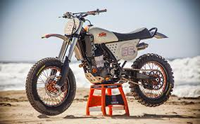 road legal motocross bikes custom ktm 450 sx f rsd grease n gasoline bike pinterest